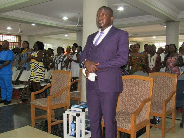 Reverend Abraham Oduro - Head Pastor Latter Rains Assemblies of God