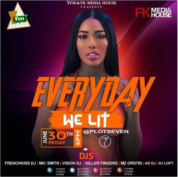 YFM and FK Media House to Light UP Plot 7 with 'Everyday We Lit' - TOMORROW!