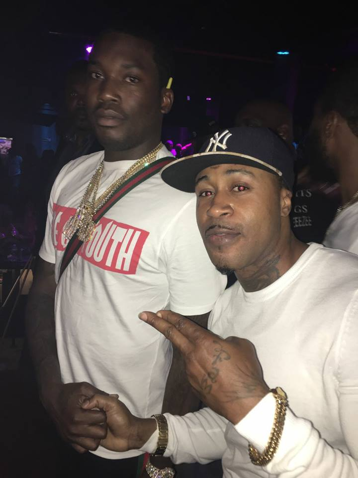 PHOTO: Promzy Hangs Out With Meek Mill