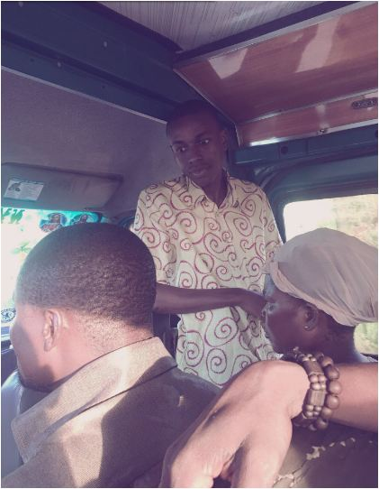 PHOTOS: Former Hiplife star Yaw Siki SPOTTED Preaching in a TROTRO