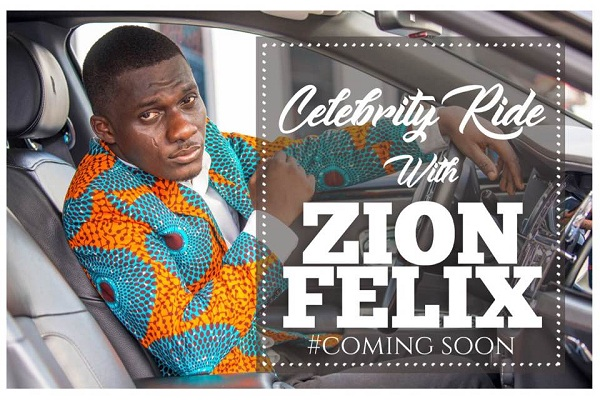 'Celebrity Ride With Zionfelix' Premieres This Sunday