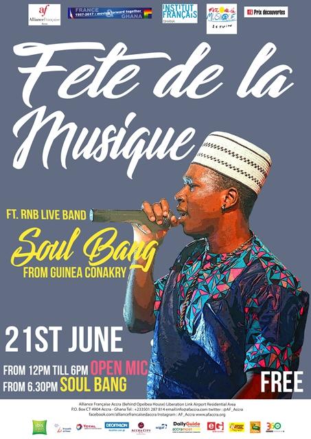 Alliance Française Accra presents Fete de la Musique