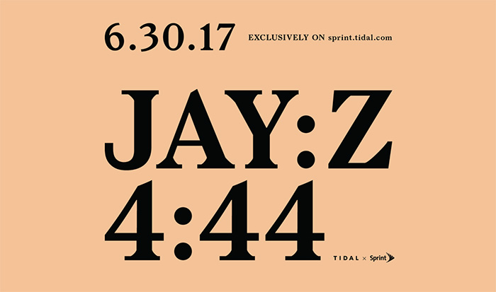Jay Z Announces New Album '4:44'