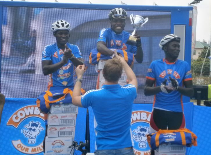 Sensational Frank Akufo scoops Cowbell Cycling Challenge