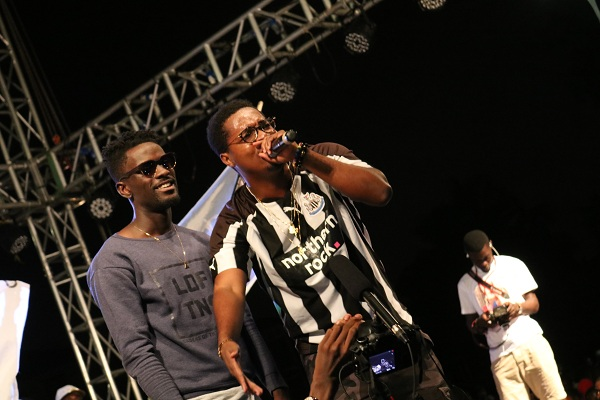 WATCH: Kojo Cue & Lil Shaker Rock #YFMAreaCodesJam In Kumasi