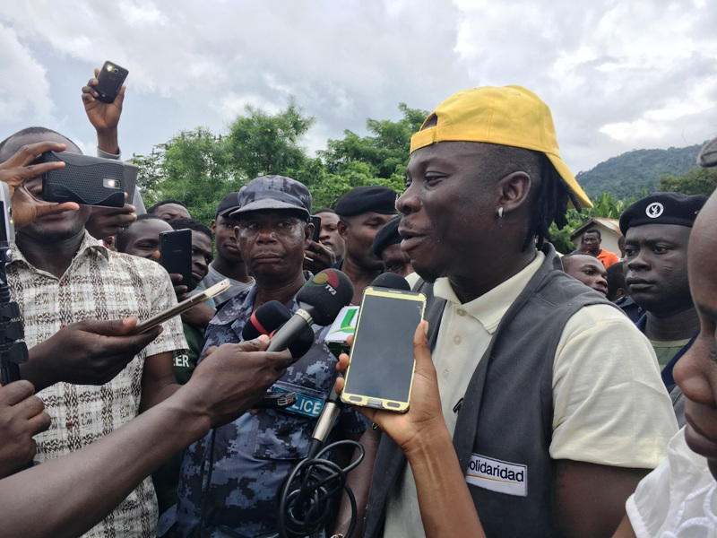 Volta Youths must embrace MASO Cocoa Project - Stonebwoy