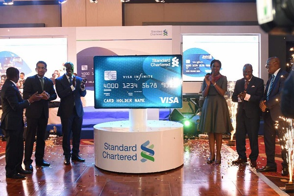 Standard Chartered Bank Ghana Limited launches credit cards