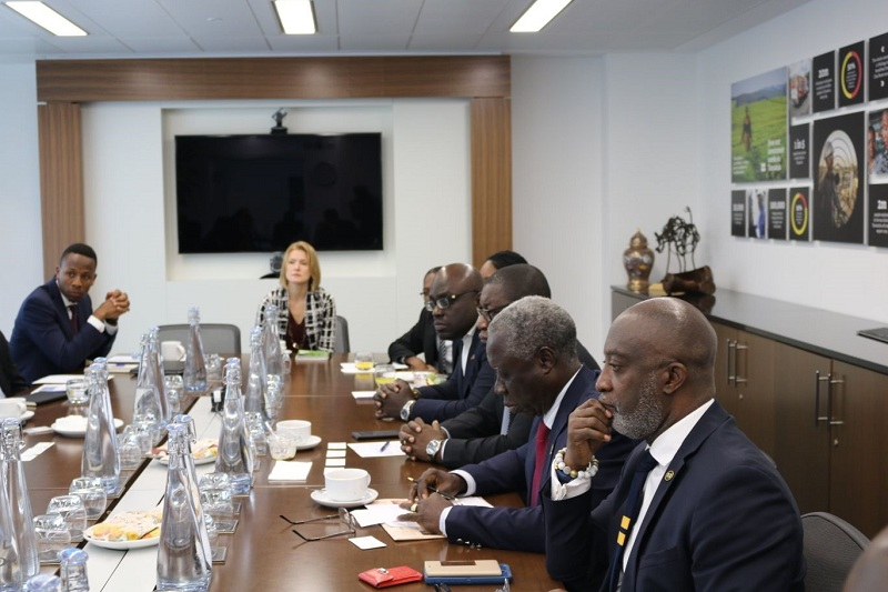 CDC Express Interest Partnering GIIF To Invest in Ghana