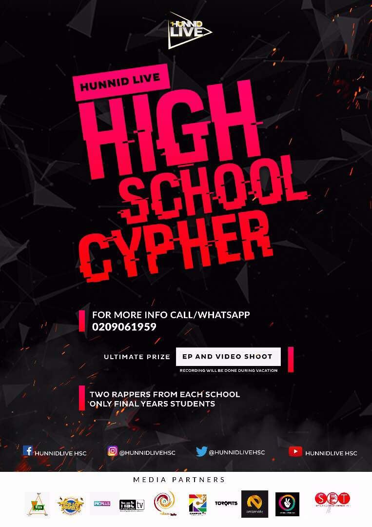 HUNNID LIVE HIGH SCHOOL CYPHER