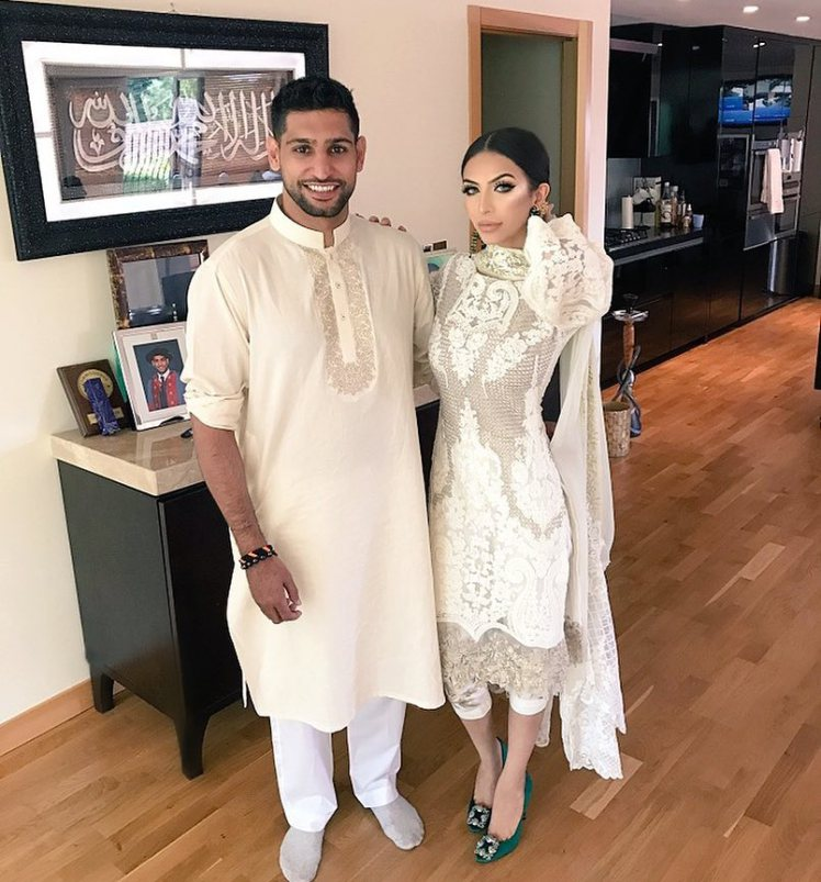 Amir Khan's wife Faryal Makhdoom set to get half of his £25m fortune in bitter divorce
