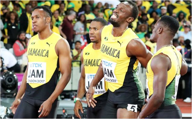 Team Jamaica Reacts to Usain Bolt's Injury