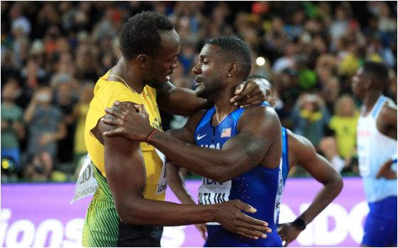 WATCH: How Gatlin stunned Usain Bolt to capture the 100m title at the #IAAFWorlds in London