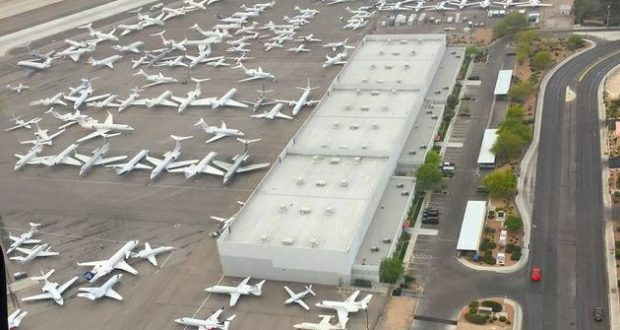 Mayweather vs. McGregor: Space for private jet parking all booked