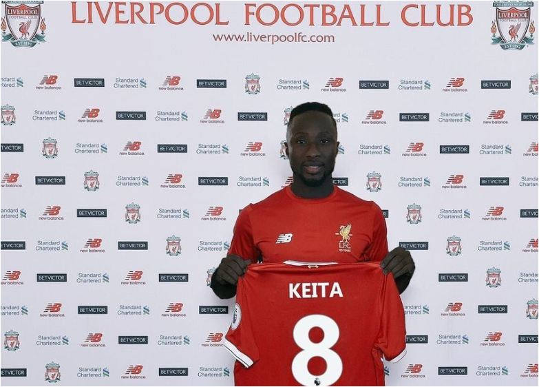Liverpool complete the signing of Naby Keita from RB Leipzig for £48 Million