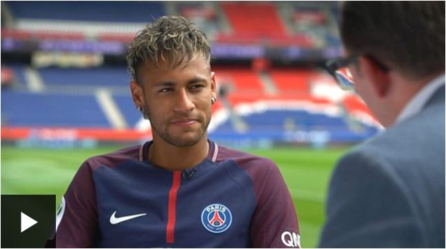 Neymar asks for team-mates' forgiveness