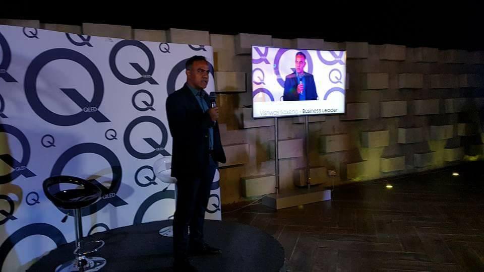 Samsung unveils one billion colour TV in Ghana