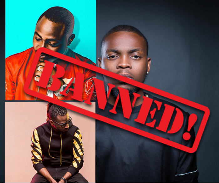 NBC Bans Olamide's Wo & Wavy Level, Davido's IF & Fall And 9ice's Living Things