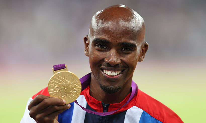 Mo Farah Hangs Spikes On Thursday