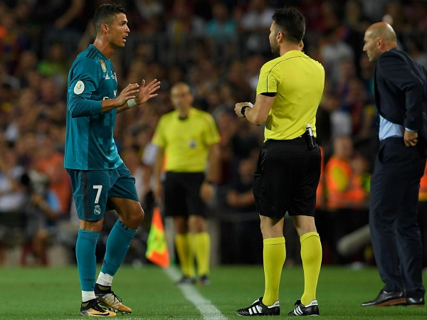 Cristiano Ronaldo hit with five-match ban for red card
