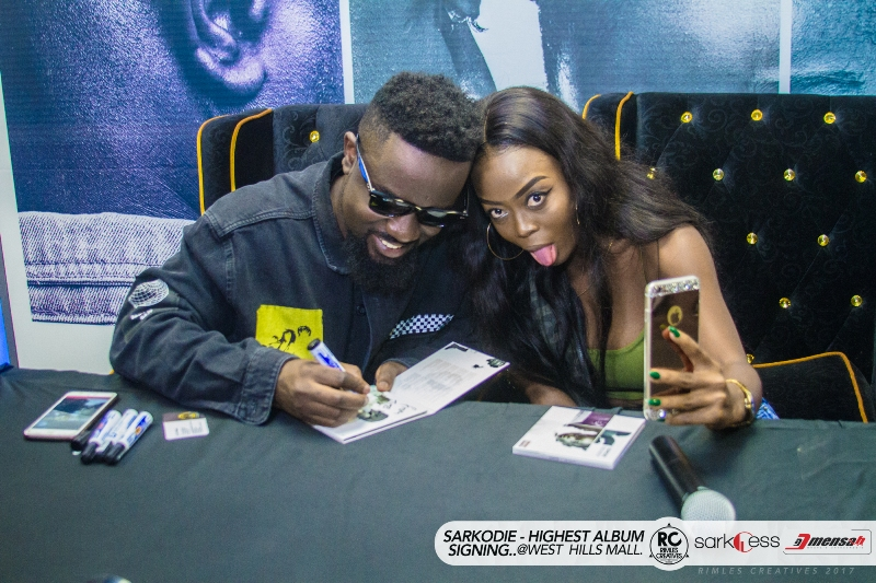 "Magnom, Medikal, StrongMan, B4Bonah supports Sarkodie at his ""HIGHEST"" album launch"