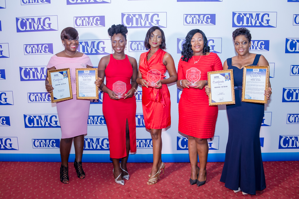 Vodafone picks three at CIMG Awards