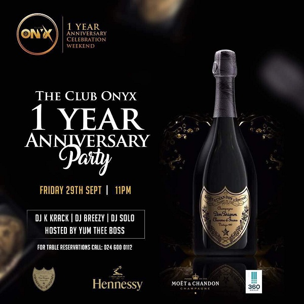 Club Onyx celebrates 1 year anniversary 3-day weekend in Grand Style