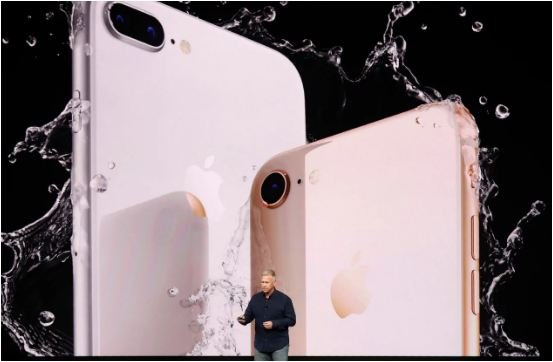 Apple unveils iPhone 8 and £1,000 iPhone X with all-screen display and wireless charging