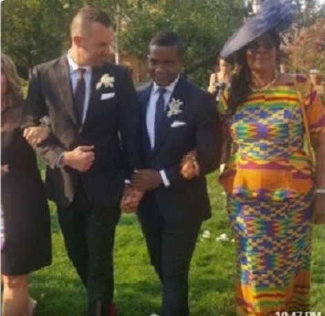 Old Student Of Achimota School Marries Gay Partner (PHOTOS+VIDEO)