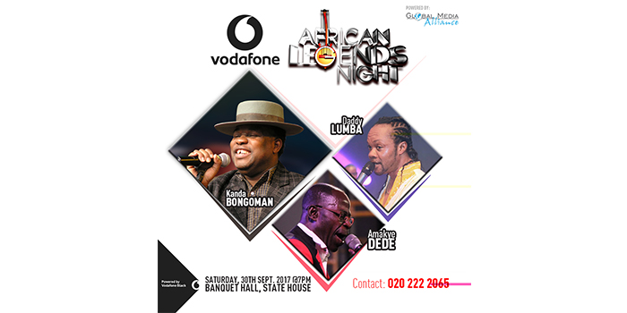 2017 Vodafone African Legends Night