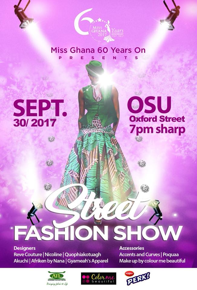 Miss Ghana Holds Street Fashion Show This Saturday Ahead Of October 7 Finals