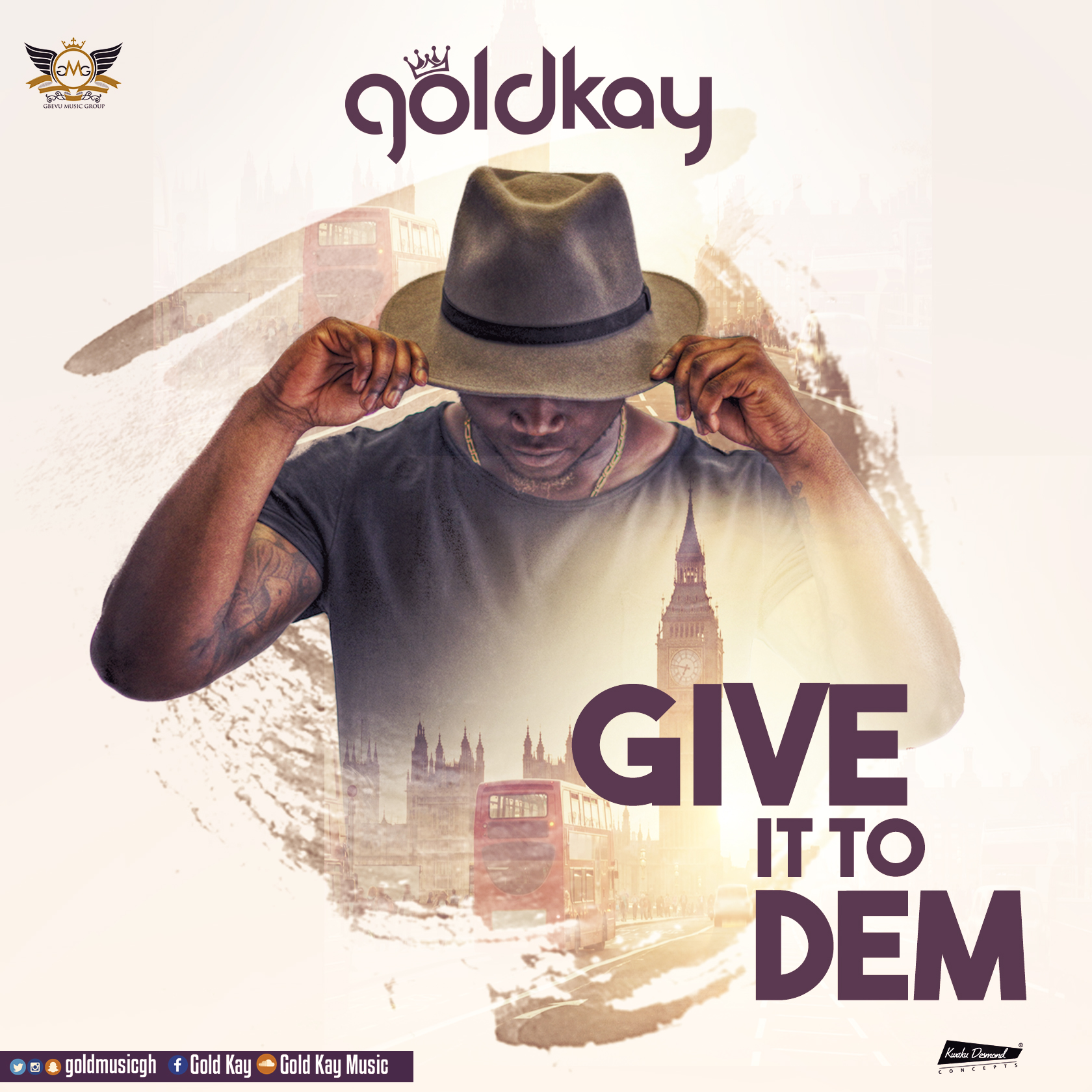 GoldKay premieres new video for 'Give It To Dem'