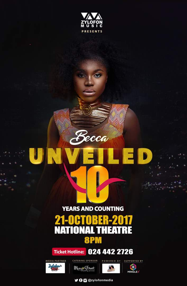 """Becca to Celebrate 10 Years With More Than 20 Artistes at """"Becca @ 10 Concert"""""""