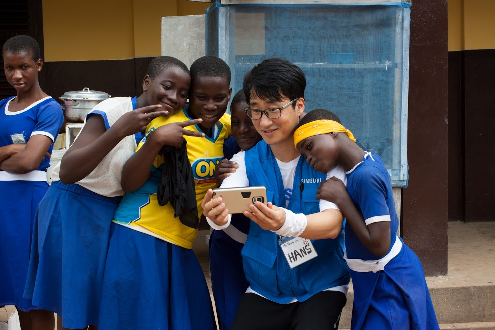 Samsung grows young girl's capacity in ICT skills in Ghana