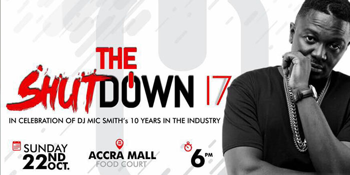 All Set for The ShutDown Concert 17 on SUNDAY