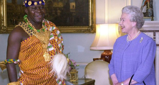 Otumfuo named in £350,000 money laundering case in UK