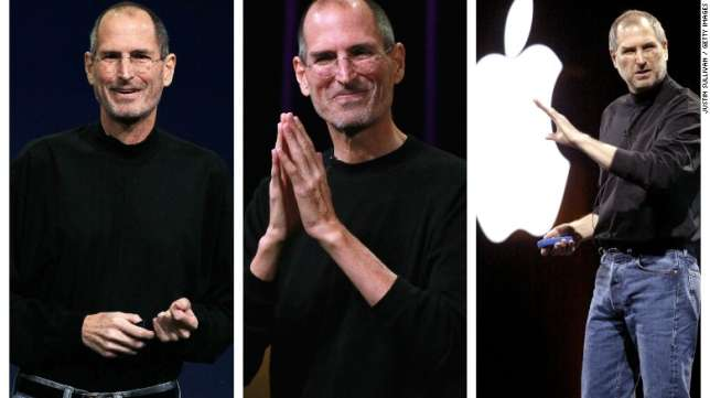 Why Apple's Steve Jobs always wore the same type of outfit