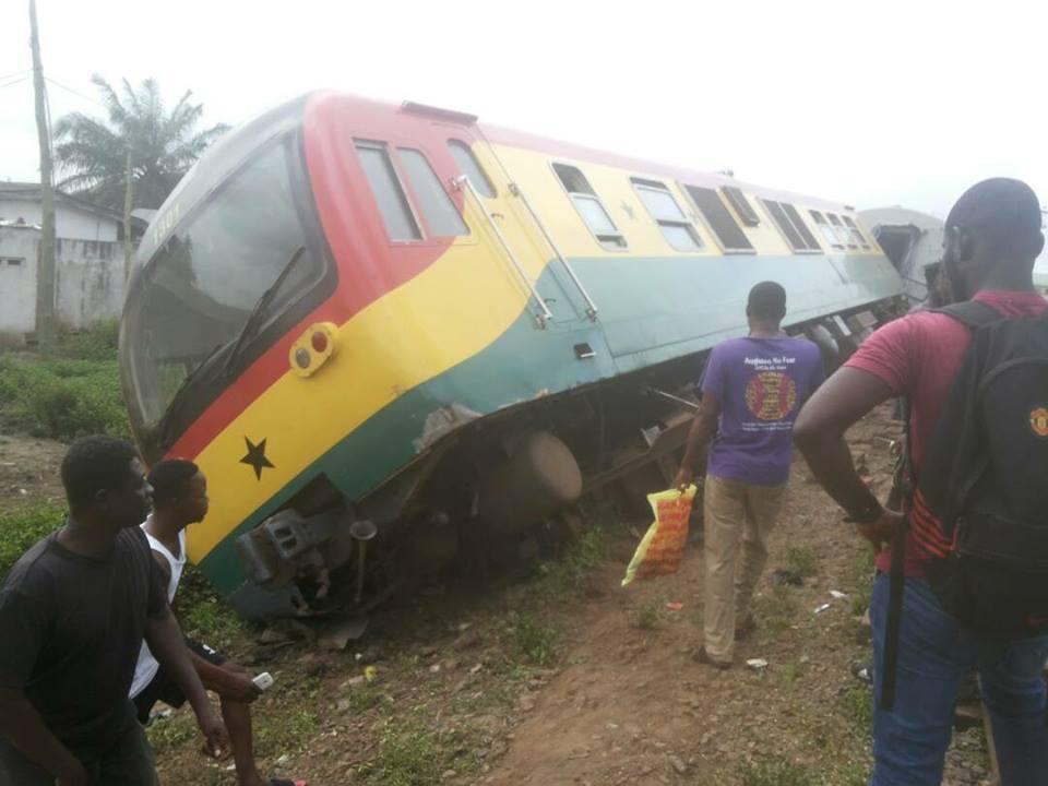 Train derails at Tesano; scores injured