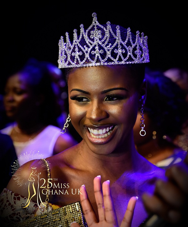 Miss Sabina Awuni is 2017 Miss Ghana UK the Jubilee Queen