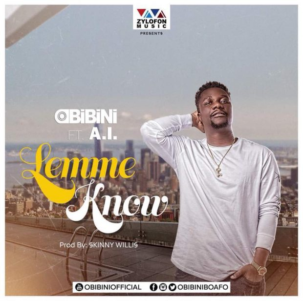 """Listen Up: Obibini features A.I on """"Lemme Know"""""""