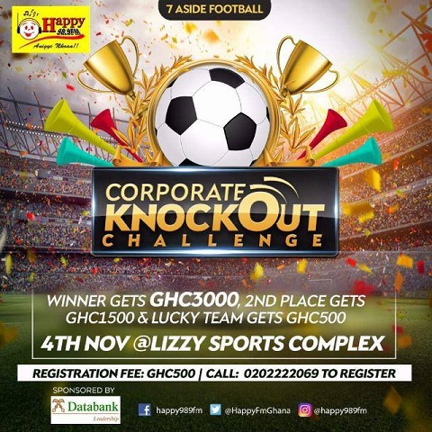 All Set for Happy FM Corporate Knockout Challenge