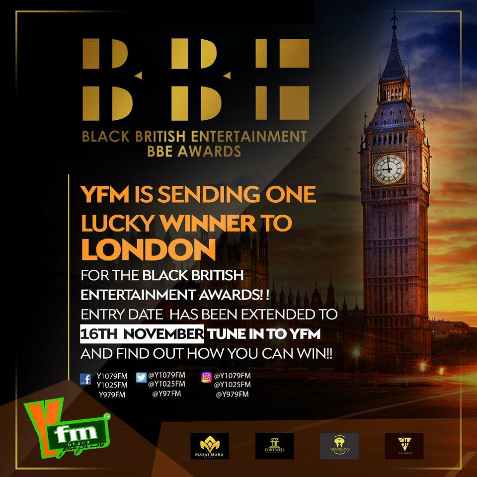 YFM Extends Entry Date For Trip to London Competition