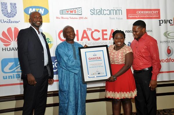 Vodafone is CSR Telecom Company of the Year