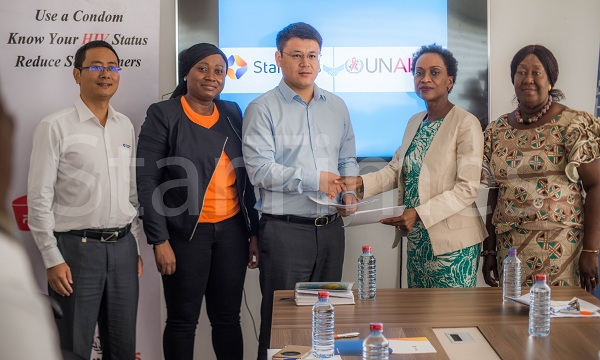 StarTimes MOU with UNAIDS