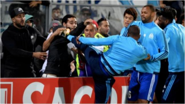 Marseille Fans Sent Patrice Evra A Message During Sunday's Game