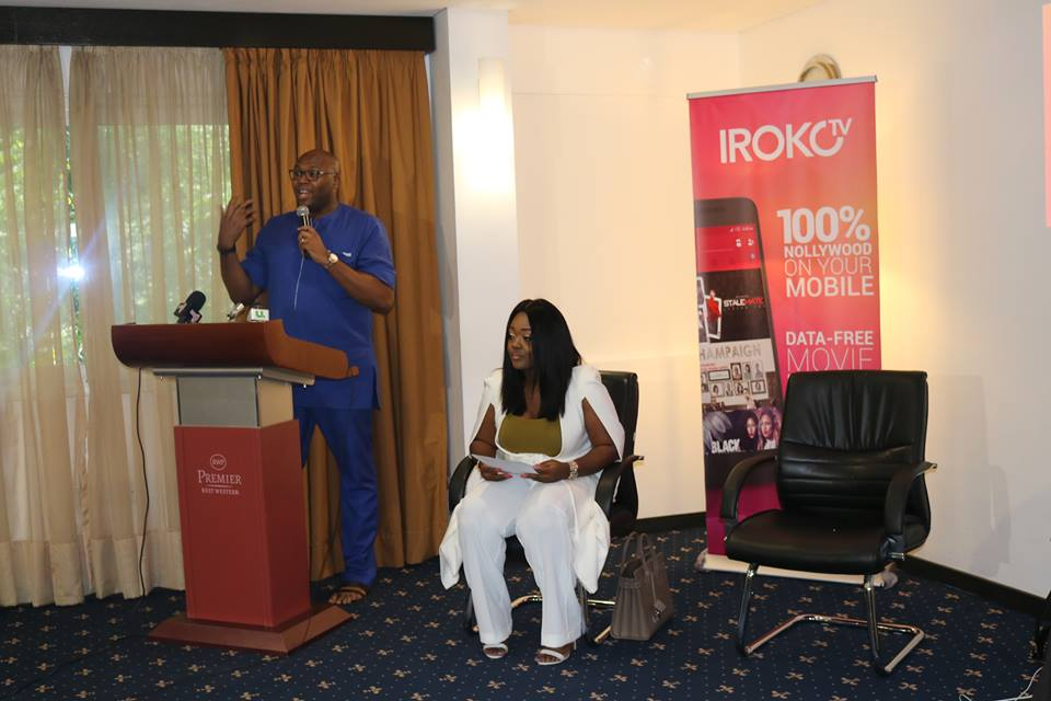 IROKOtv Lands in Ghana with Jackie Appiah