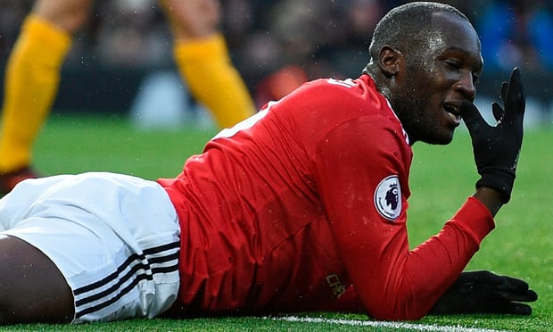 Romelu Lukaku could face ban after appearing to kick Brighton's Bong