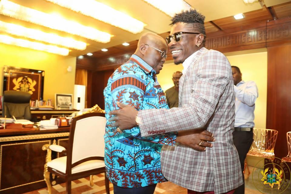 Stonebwoy reacts to Shatta Wale's meeting with Nana Akufo-Addo