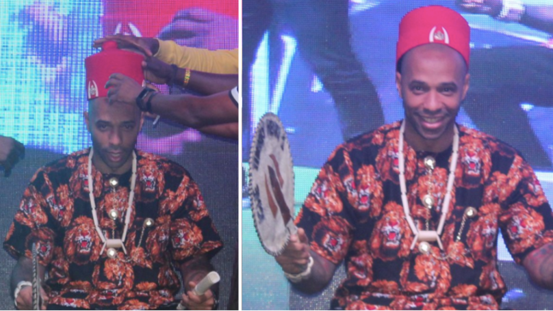 Arsenal Legend Thierry Henry Has Been Made An Honorary King