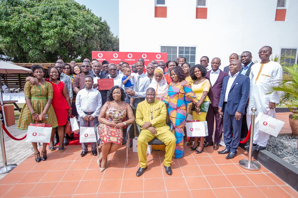 Vodafone CIEBS Master Class graduation held in Accra
