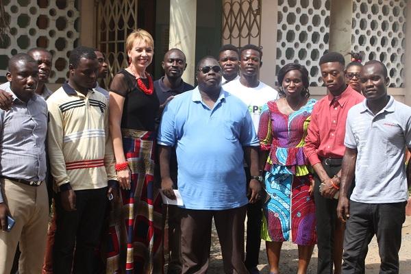 e.TV  Japan Motors Corporate Run Donates to Ghana Blind Union